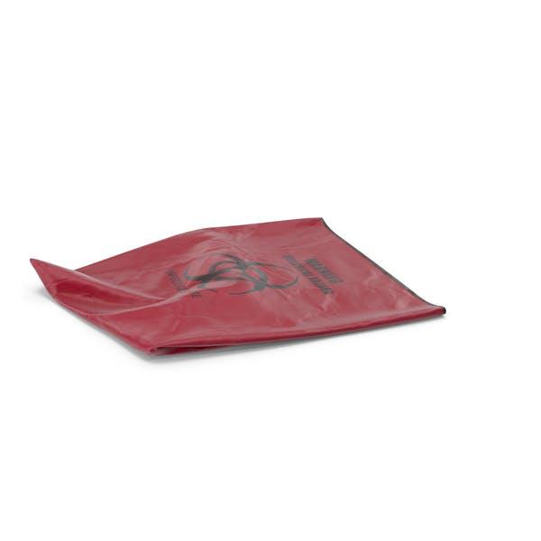Мешок для мусора красный