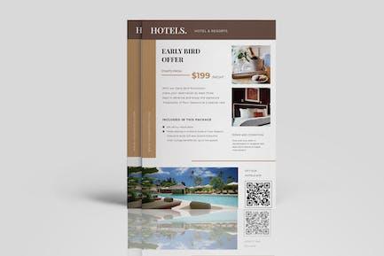 Hotels Resorts Flyer