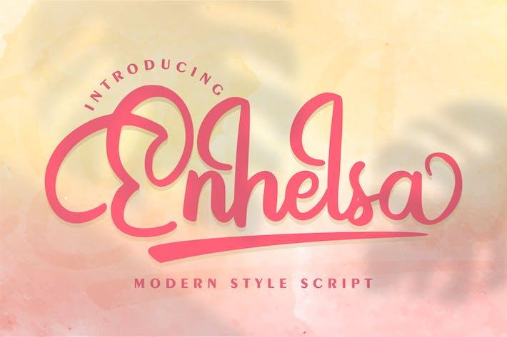 Thumbnail for Enhelsa | Modern Style Script