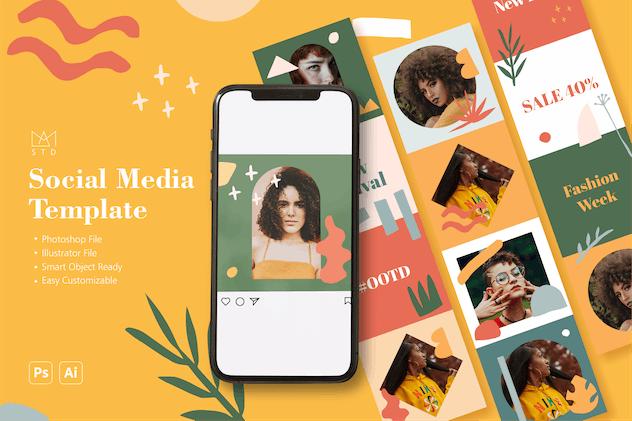 Social Media Template Vol. 3