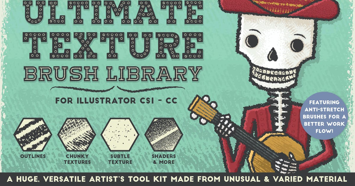 Download The Ultimate Texture Brush Library by JRChild