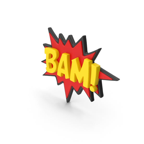 Stand Up Superhero Retro BAM Comic