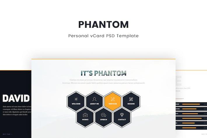 Thumbnail for Phantom – Creative Personal vCard Template
