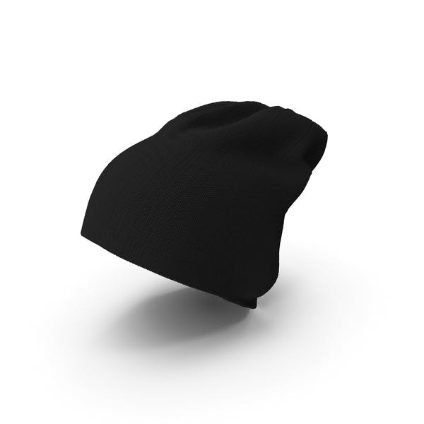 Black Winter Cap Beanie