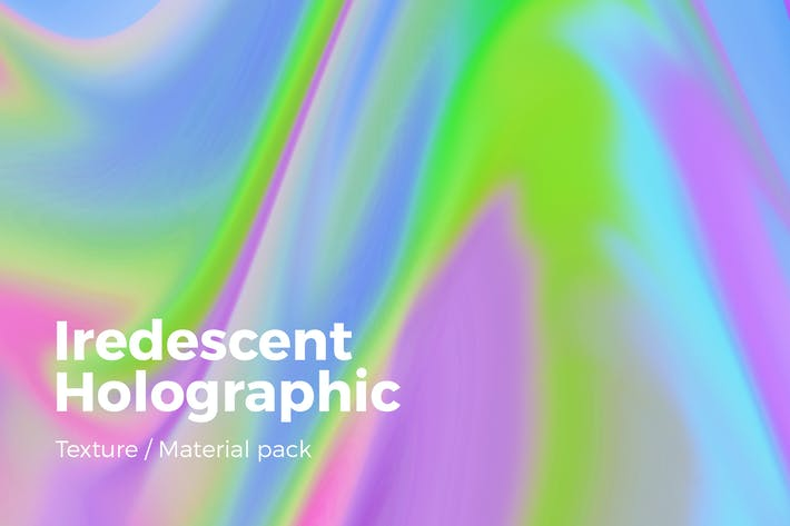 Cover Image For Iridescent Holographic Texture v1