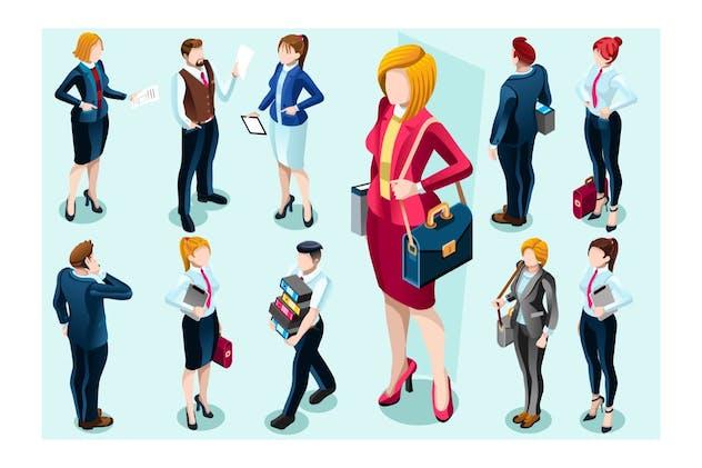 Businesswoman Assistant Concept Laptops Images