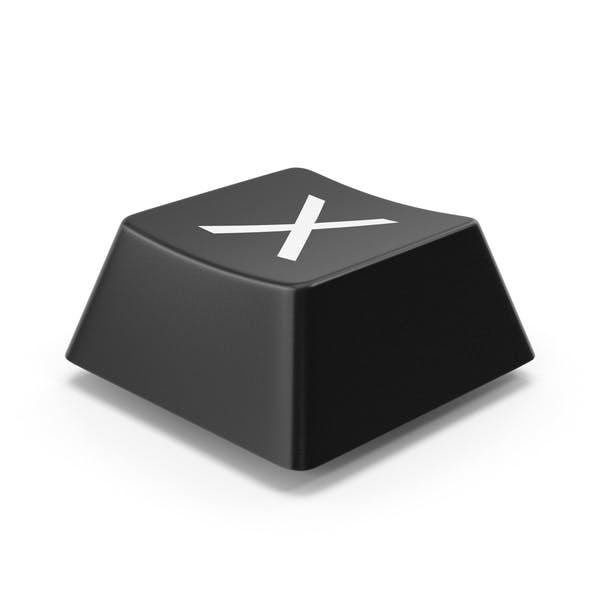 Кнопка клавиатуры X