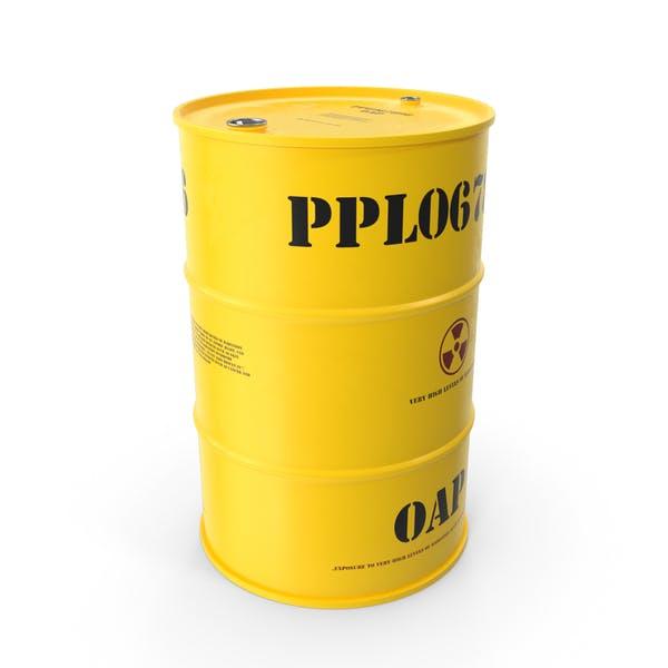 Бочка для радиоактивных отходов
