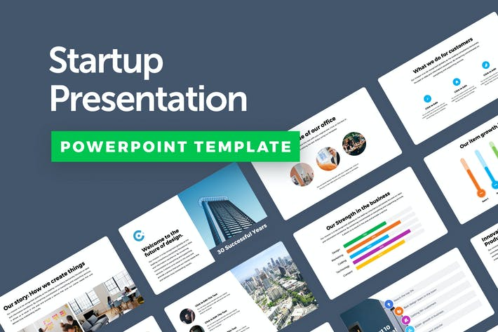 Thumbnail for Startup Powerpoint Presentation Template