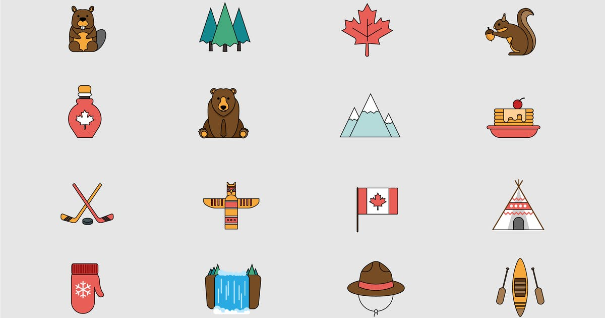 Download Canadian Outdoors Icons by Jumsoft
