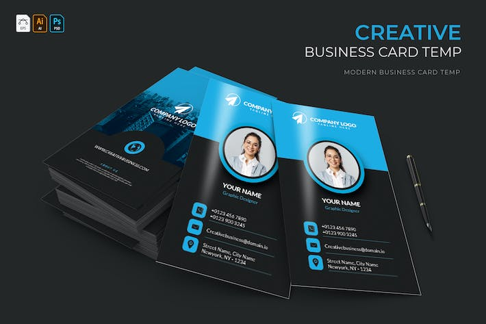 Thumbnail for Creative | Business Card
