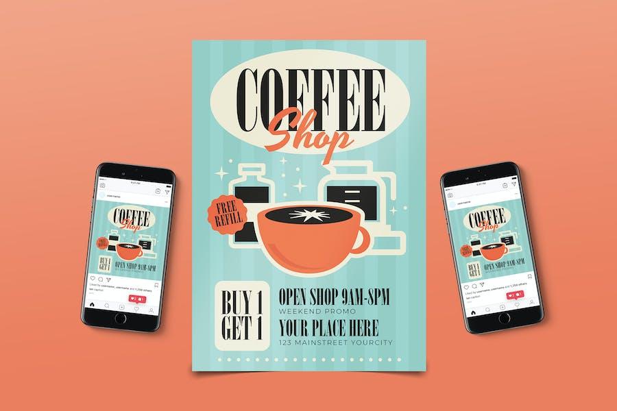 Coffee Shop Promo Promo Pack