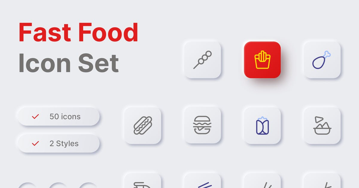 Download Fast Food Icon by simplestudios