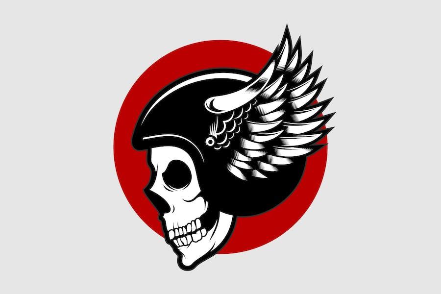 Helmet Skull 1