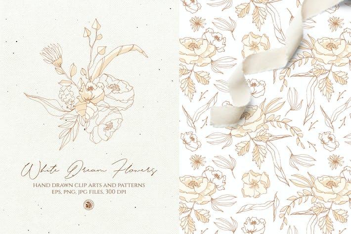 Thumbnail for White Dream Flowers