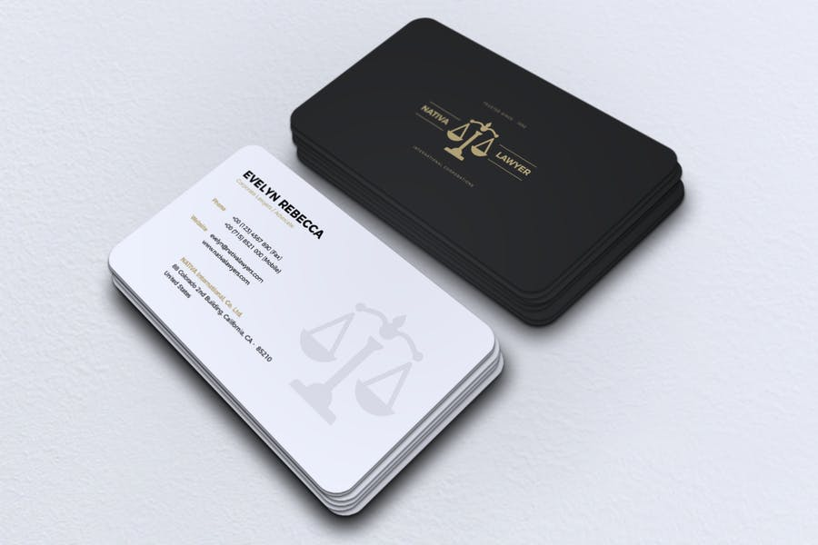 Minimalist Business Card Vol. 41