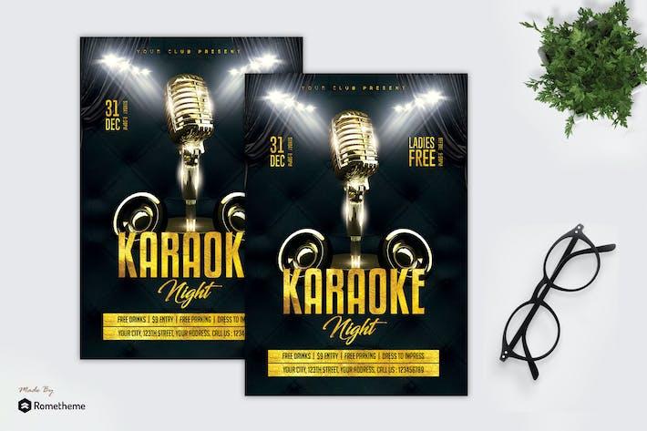 Thumbnail for Karaoke Night - Party Flyer MR