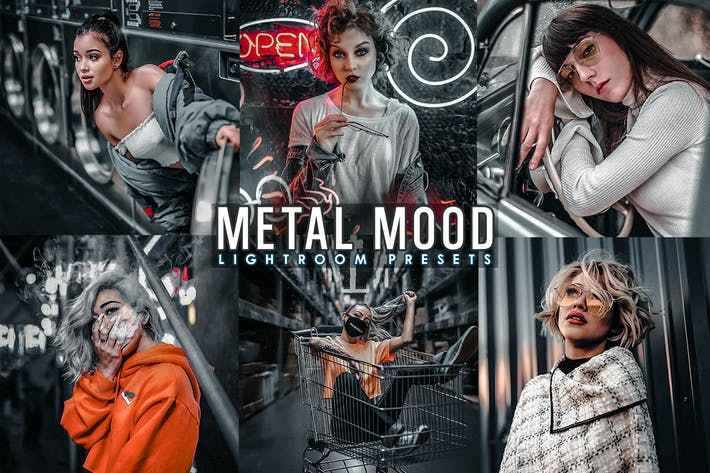 Thumbnail for Moody Metal Presets Mobile and Desktop