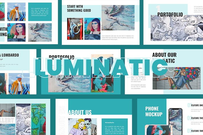 Cover Image For Luminatic -  Keynote Presentation