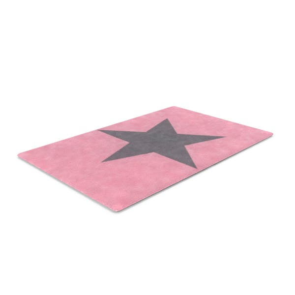 Thumbnail for Pink Star Rug