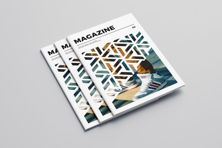 Modern Cool Pattern Magazine