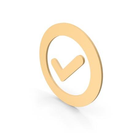 Validation Check Mark Symbol Icon