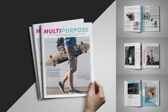 Thumbnail for Multipurpose Magazine Template