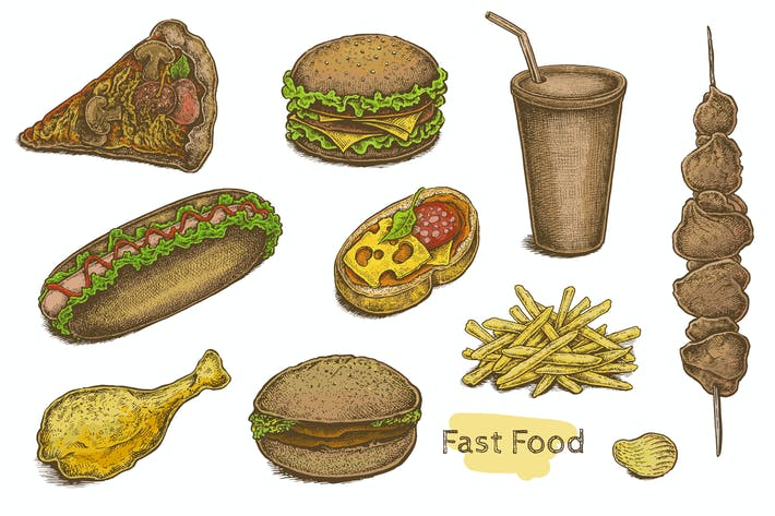 Thumbnail for Fast Food Set