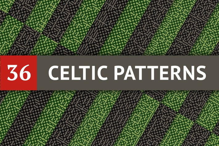 Thumbnail for Celtic Patterns Set