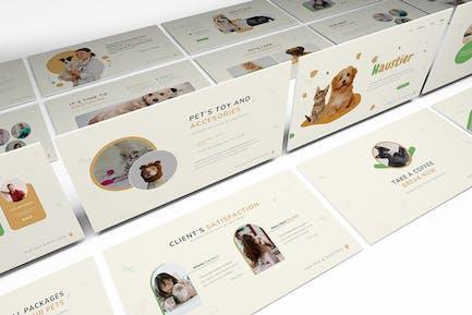 Haustier Pet Care Keynote Template
