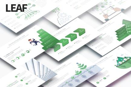 Leaf - Multipurpose PowerPoint Presentation
