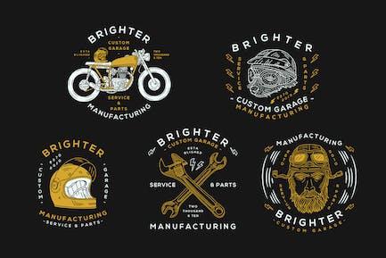 Motorcycle Logo Badge