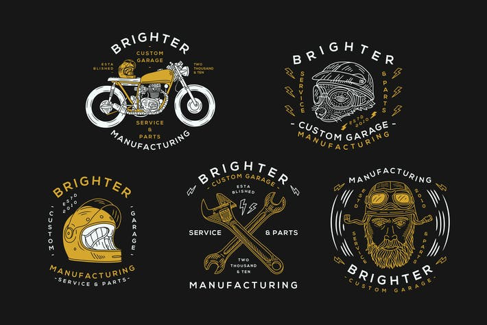 Thumbnail for Motorcycle Logo Badge
