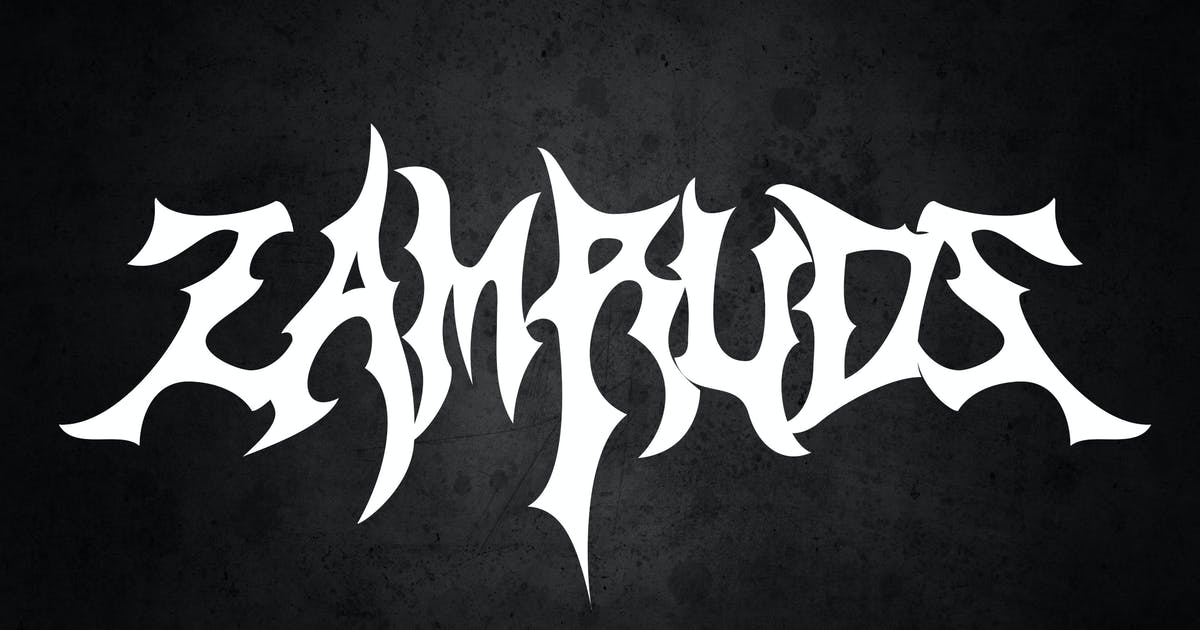 Download Zamruds - Tribal Font by shirongampus