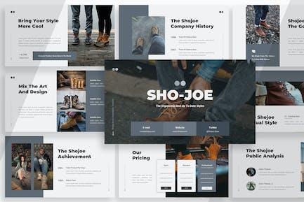 Shojoe - Продукт Powerpoint