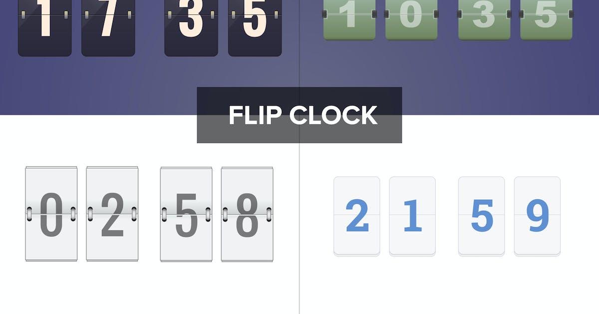 Download Flip Clock by vintagio