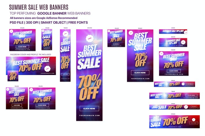 Thumbnail for Summer Sale Banner