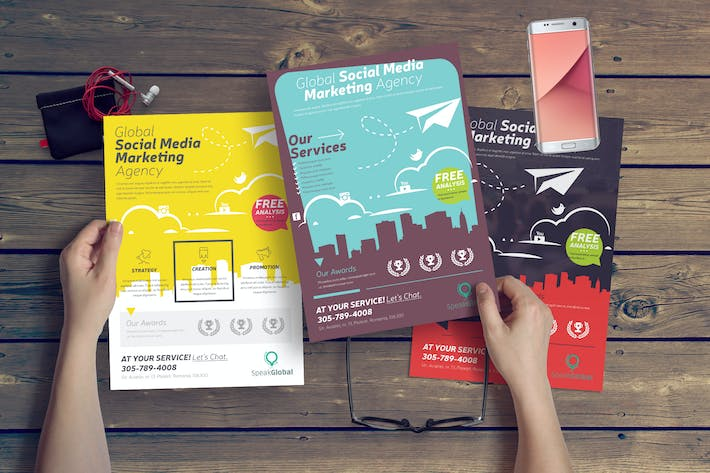 """Download 1,208 """"social media graphic"""" Templates on Envato Elements"""