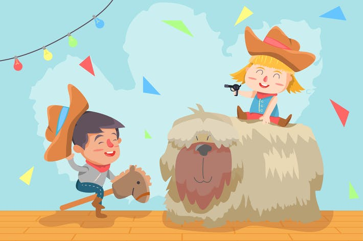 Thumbnail for Best Friends -  Vector illustration