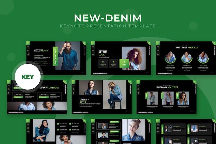 Thumbnail for New-Denim - Keynote Template