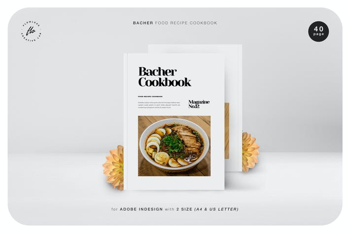 Thumbnail for Bacher Food Recipe Cookbook
