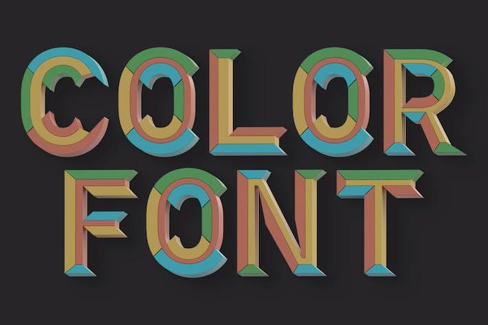 Geometry 2 - Color SVG Font