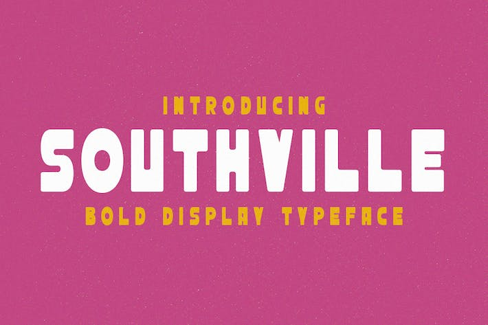 Southville - Bold Display Typeface