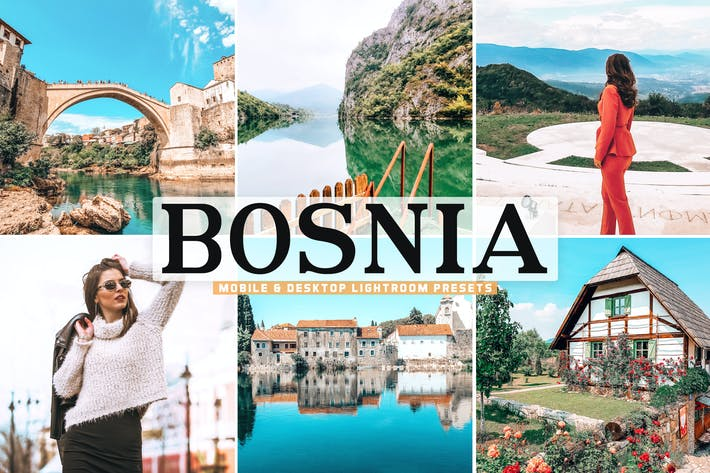 Thumbnail for Bosnia Mobile & Desktop Lightroom Presets