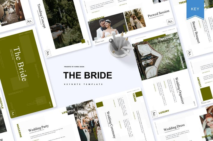 Thumbnail for The Bride | Keynote Template
