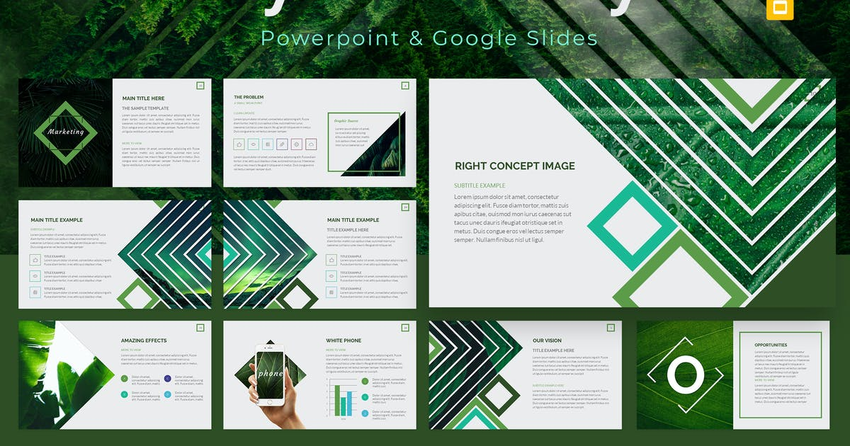 Download Symmetry Powerpoint & Google Slides Template by graphicboomstudio