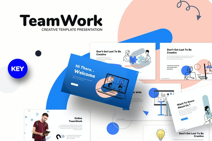 Thumbnail for Teamwork - Business Keynote Template