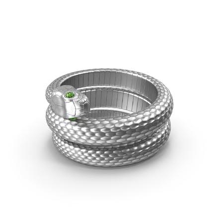 Schlangenring Silber