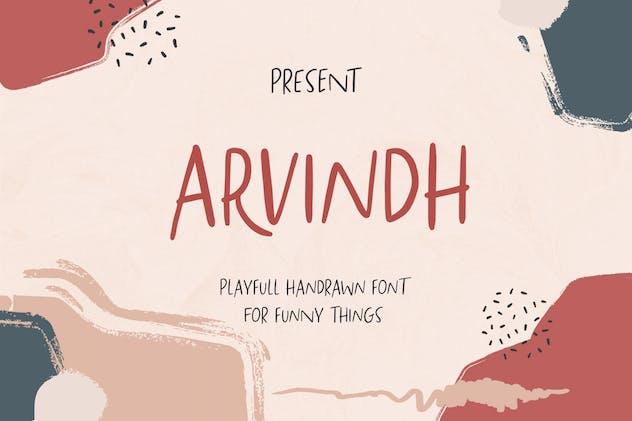 Arvindh Handmade Sans