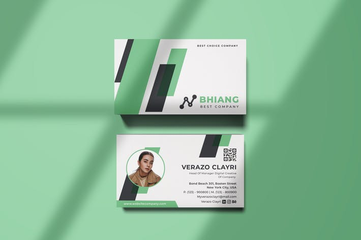 Thumbnail for Bhiang Business Card